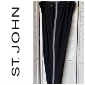 St John joggers with grey detail stripping